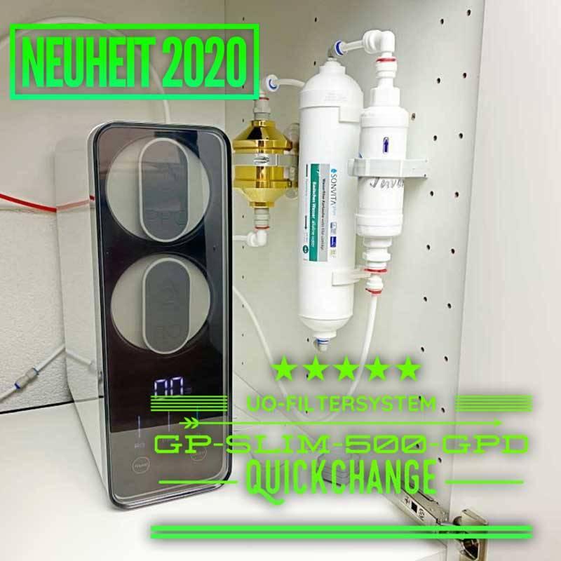 Umkehrosmosefilter-GP-Slim-500-GPD-Quickchange-Intro