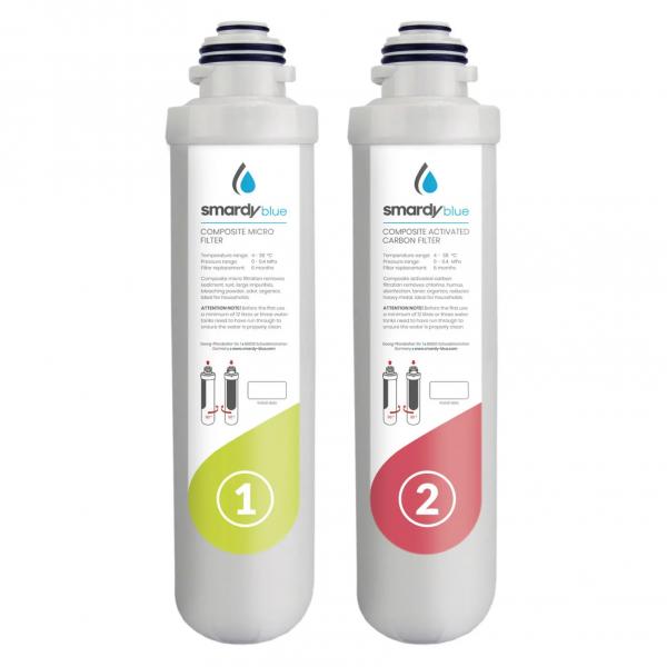 SmardyBlue tata™ 2in1 Ersatzfilter-Set