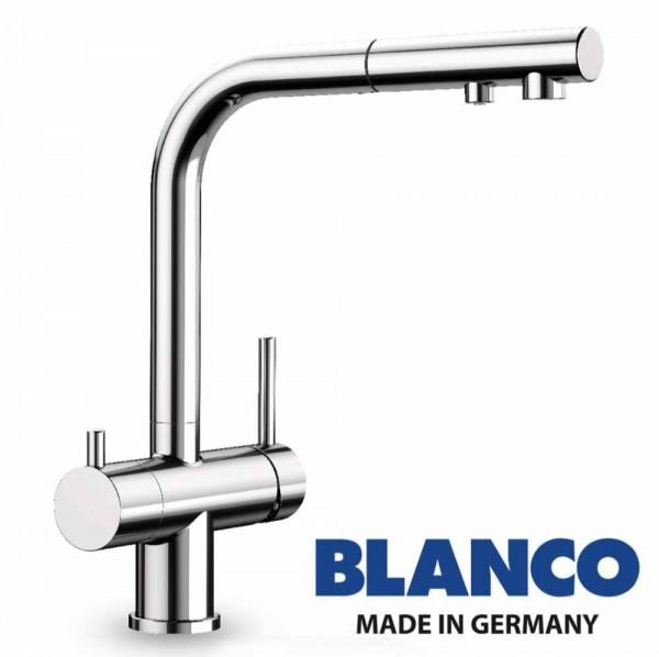 Wasserhahn 3in1 | BLANCO Fontas II Brause (ausziehbar)