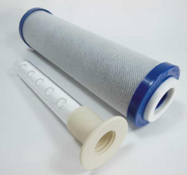 "Aquaphor MicroCarbon Aktivkohle + Keimsperre | 10"""