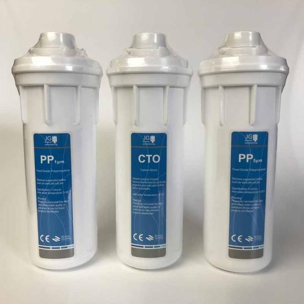 Ersatzfilterset GP-600 GPD Quickchange (1/2 Jahresset)