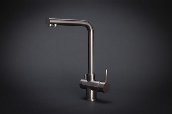 Wasserhahn 3in1 | New York | Edelstahl inkl. Leitungen
