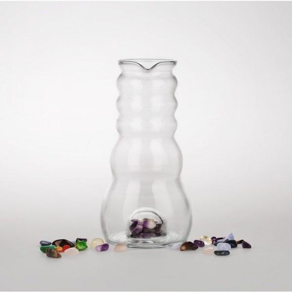 Nature´s Design Wasserkrug Cadus mit Fach für Edelsteine