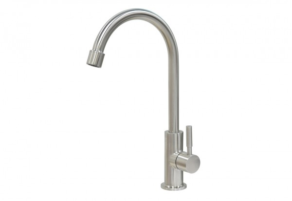Edelstahl-Design-Wasserhahn Tina mit M22 Gewinde
