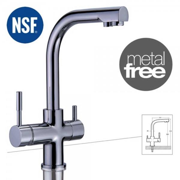 Wasserhahn 3in1 | Mercury METAL FREE