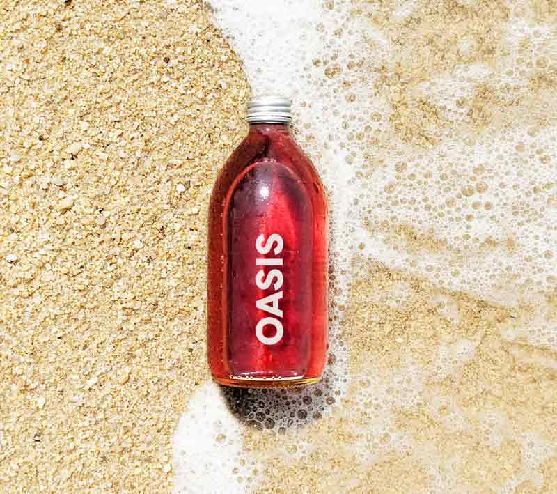 Oasis-Flasche