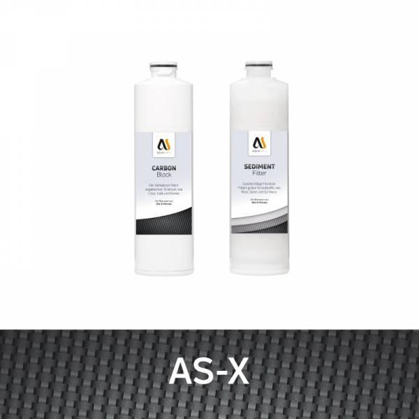 Vorfilter Set für den AS-X Direktfluss Wasserfilter