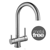 Wasserhahn 4in1   Rainbow Plus   Metal-free (2x Filterwasser)