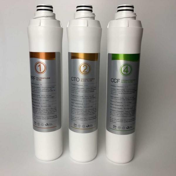 Ersatzfilterset Ropot Quickchange / JG Elegance 3 (1/2 Jahresset)