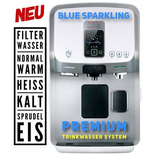 Osmosefiltersystem BLUEsparkling Premium | Auftischsystem mit 5 Wassersorten