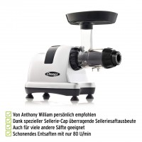 Omega Juicer MM900 HDS | Anthony William Favorit