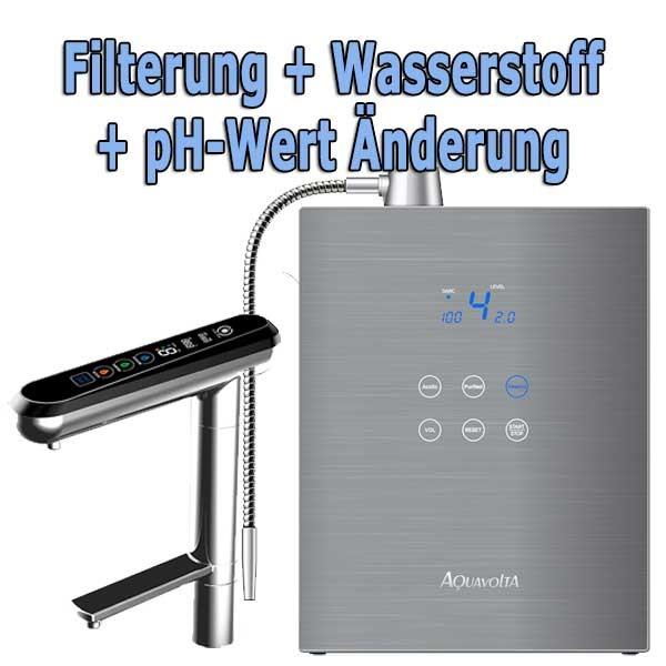 AquaVolta® Exquisite Wasserionisierer | Auftisch & Untertisch